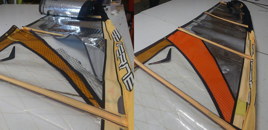 Reparatur Kite Windsurf Board Vorzelt Planen Persenning